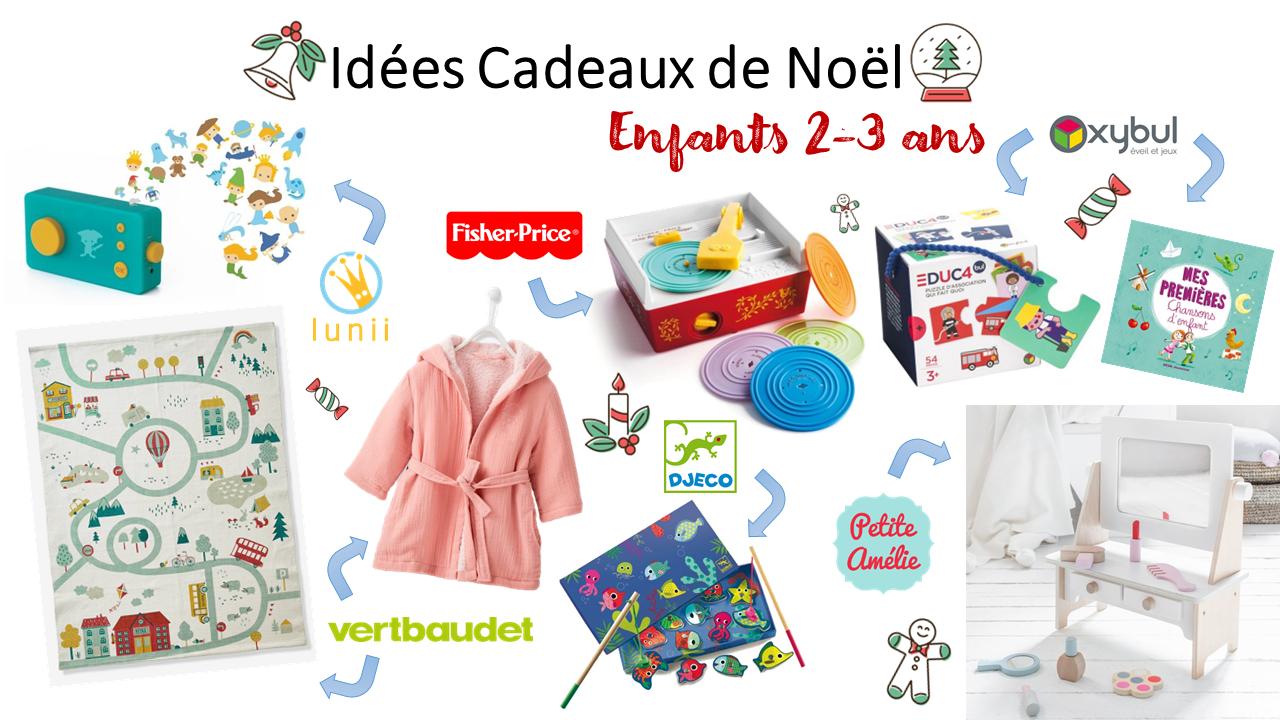 Idées cadeaux de Noël pour enfants 2 3 ans   ClaireMakeupAndCo