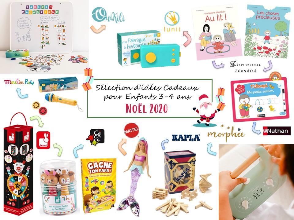 Idees Cadeaux Noel 2020 Pour Kids 3 4 Ans Clairemakeupandco